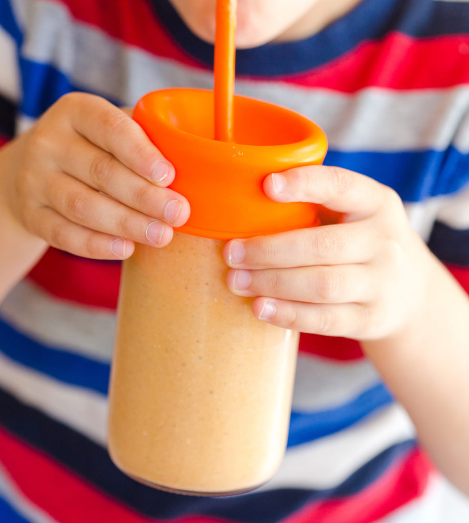 Pumpkin Pie Oatmeal Smoothie - The Healthy Kids Table